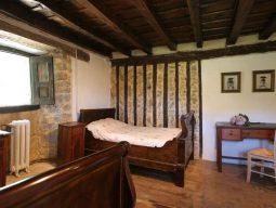Habitación del albergue en Soba Casón de Sangas